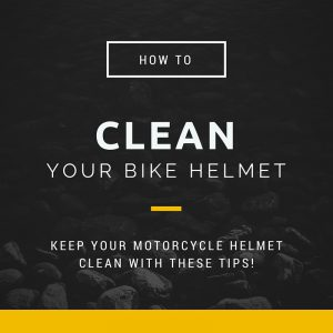 How To Clean A Motorcycle Helmet